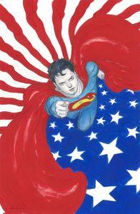 [Superman: Red & Blue #1 (Cover C Yoshitaka Amano Variant) (Product Image)]