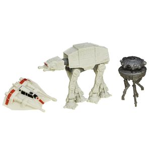 [Star Wars: The Force Awakens: Wave 1 Micro Machines 3 Packs: Battle Of Hoth (Product Image)]
