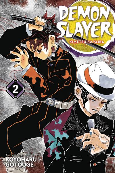 [The cover for Demon Slayer: Kimetsu No Yaiba: Volume 2]