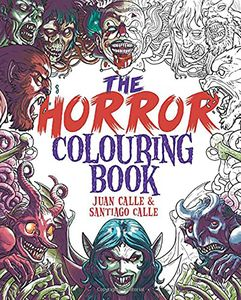 [The Horror Colouring Book (Product Image)]