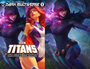 [Tales From The Dark Multiverse: The Judas Contract #1 (Artgerm Collectibles Exclusive Raven Set) (Product Image)]