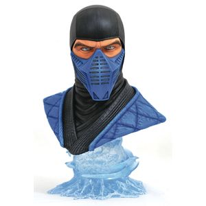 [Mortal Kombat 11: Legends In 3D Bust: Sub Zero (Product Image)]