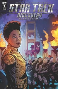 [Star Trek: Discovery: Succession #1 (Cover A Hernandez) (Product Image)]