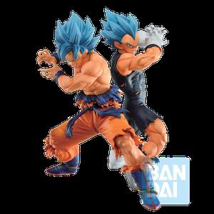 [Dragon Ball Super: Ichibansho PVC Statue: Ssgss Goku & Ssgss Vegeta (Vs Omnibus Super) (Product Image)]