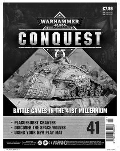[Warhammer 40K: Conquest: Figurine Collection #41 (Product Image)]