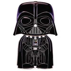 [Star Wars: Loungefly Large Enamel Pop! Pin: Darth Vader (Product Image)]