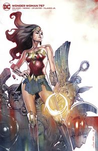 [Wonder Woman #757 (Card Stock Olivier Coipel Variant Edition) (Product Image)]