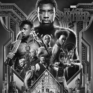 [Black Panther: 2019 Calendar (Product Image)]