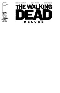 [Walking Dead: Deluxe #1 (Cover F Blank Sketch) (Product Image)]