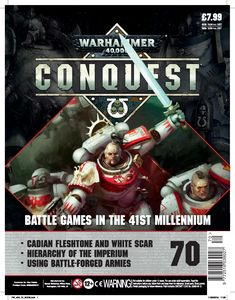 [Warhammer 40K: Conquest: Figurine Collection #70 (Product Image)]