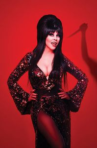 [Elvira Meets Vincent Price #2 (Cover I Photo Virgin Variant) (Product Image)]