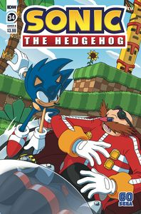 [Sonic The Hedgehog #34 (Cover B Peppers) (Product Image)]