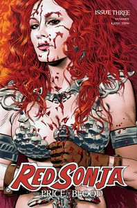 [Red Sonja: Price Of Blood #3 (Cover B Golden) (Product Image)]