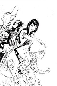[Vampirella: Dark Powers #2 (Lee B&W Virgin Variant) (Product Image)]
