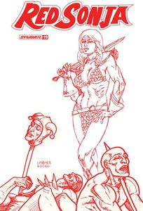 [Red Sonja #23 (Linsner Tint Variant) (Product Image)]