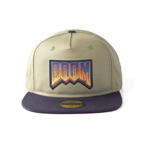 [Doom: Eternal: Snapback Cap: Retro Logo (Product Image)]