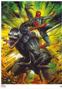 [Spider-Man Vs Venom: Giclee Print by Adi Granov (Signed Limited Edition) (Product Image)]