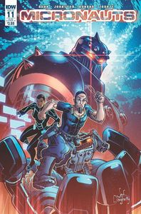 [Micronauts #11 (Subscription Variant A) (Product Image)]
