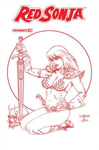 [Red Sonja #26 (Linsner Tint Variant) (Product Image)]