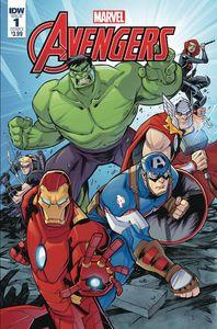 [Marvel Action: Avengers #1 (Product Image)]