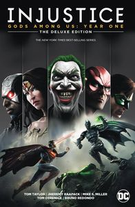 [Injustice: Gods Among Us: Year One: Book 1 (Deluxe Edition - Hardcover) (Product Image)]