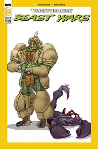 [Transformers: Beast Wars #2 (Cover A Josh Burcham) (Product Image)]