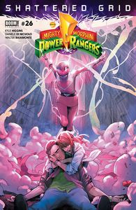[Mighty Morphin Power Rangers #26 (Main) (Product Image)]