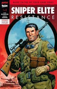 [Sniper Elite: Resistance #1 (Forbidden Planet Variant - Signed Edition) (Product Image)]