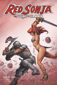 [Red Sonja: Price Of Blood #2 (Cover C Linsner) (Product Image)]