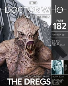 [Doctor Who Figurine Collection #182: Dregs (Product Image)]