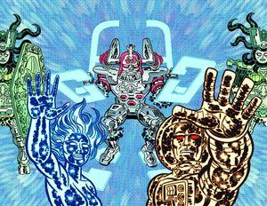 [Godland: Volume 5: Far Beyond The Bang (Product Image)]