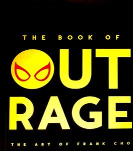 [Book Of Outrage: Art Of Frank Cho (Limited Signed & Numbered Gold Edition) (Product Image)]
