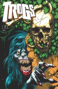 [The cover for Trogs (Cover A Trog)]