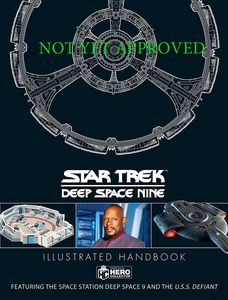 [Star Trek: Deep Space Nine: Illustrated Handbook (Hardcover) (Product Image)]