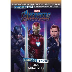 [Avengers: Change It Up: A3 2020 Calendar (Product Image)]
