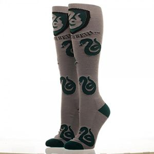 [Harry Potter: Knee High Socks: Slytherin (Product Image)]