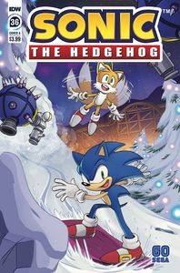 [Sonic The Hedgehog #36 (Cover A Schoening) (Product Image)]