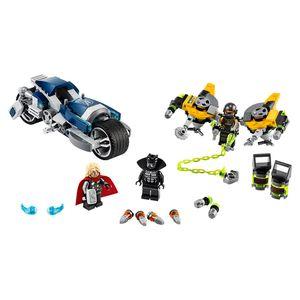 [LEGO: Avengers: Black Panther Bike (Product Image)]