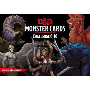 [Dungeons & Dragons: Monster Cards: Challenge 6-16 (Product Image)]