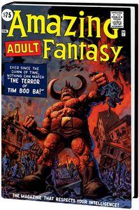 [Amazing Fantasy: Omnibus (Brereton DM Variant New Printing Hardcover) (Product Image)]