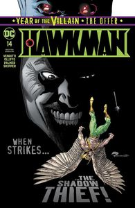 [Hawkman #14 (YOTV The Offer) (Product Image)]