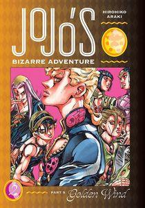 [JoJo's Bizarre Adventure: Part 5: Golden Wind: Volume 2 (Hardcover) (Product Image)]
