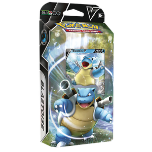 [Pokemon: Trading Card Game Battle Deck: Blastoise V & Venusaur V (Product Image)]
