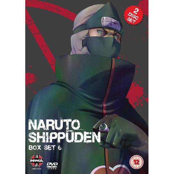 [The cover for Naruto Shippuden: Box Set 6]