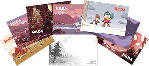 [Hilda: Postcard Pack: Hilda & Friends (Product Image)]