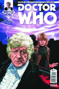 [Doctor Who: 3rd Doctor #4 (Cover A Walker) (Product Image)]