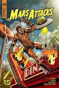 [Warlord Of Mars Attacks #3 (Cover A Johnson) (Product Image)]