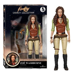 [Firefly: Legacy Collection Action Figures: Zoe Washburne (Product Image)]