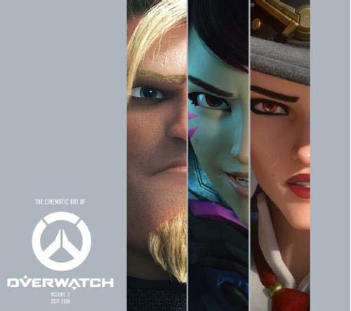 [The cover for The Cinematic Art Of Overwatch: Volume Two]
