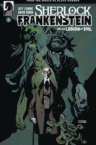 [Sherlock, Frankenstein & The Legion Of Evil #1 (Mignola Variant) (Product Image)]